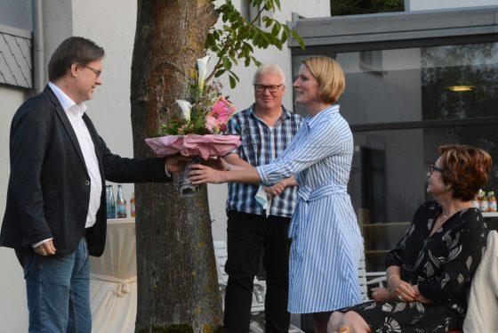 Ev. Kirchenkreis Herford, Löhne, Leitungswechsel in der Kita, Marion Platenius verabschiedet, Anna Küster offiziell in Amt eingeführt.