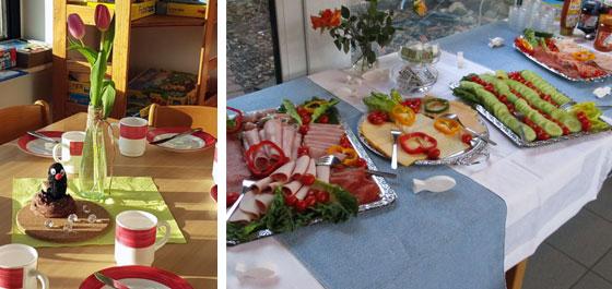 Neujahrs-Familienfrühstück