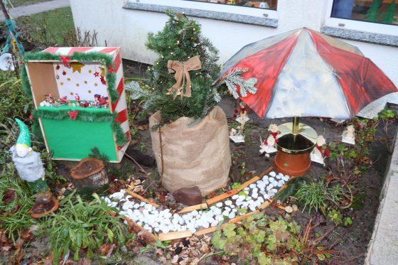 Mini-Weihnachtsmarkt