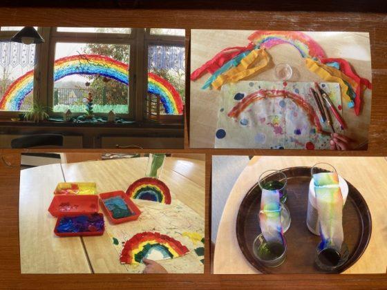 Kreativangebote Regenbogen