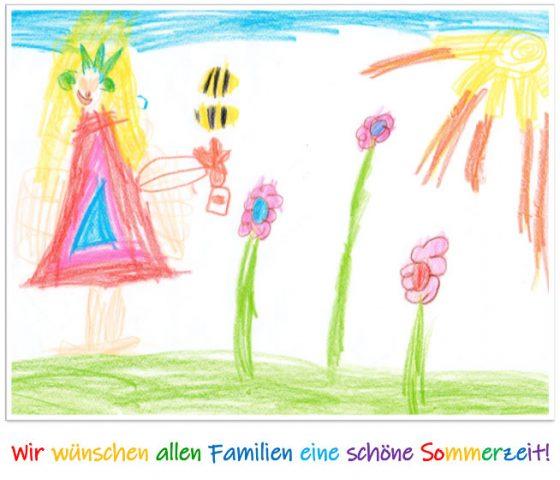 Wir wünschen allen Familien eine schöne Sommerzeit!